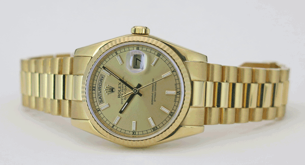New Style Rolex Day-Date President - Model 118238