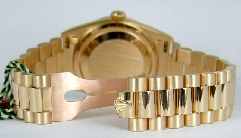 New Style Rolex Day-Date President Clasp - 2000-2003