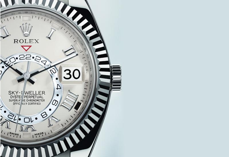 Rolex Sky-Dweller White Gold Watch Chest Blog