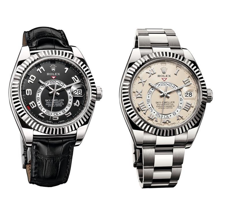 Rolex Sky-Dweller | White Gold | Leather Strap & Oyster Bracelet