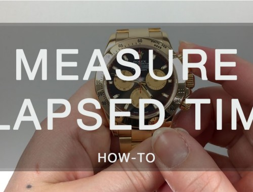 how to measure rolex daytona elapsed time watch chest blog